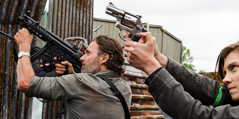 The Doc(Manhattan) is in – The Walking Dead 8×01: Wile E. Coyote e l'A-Team