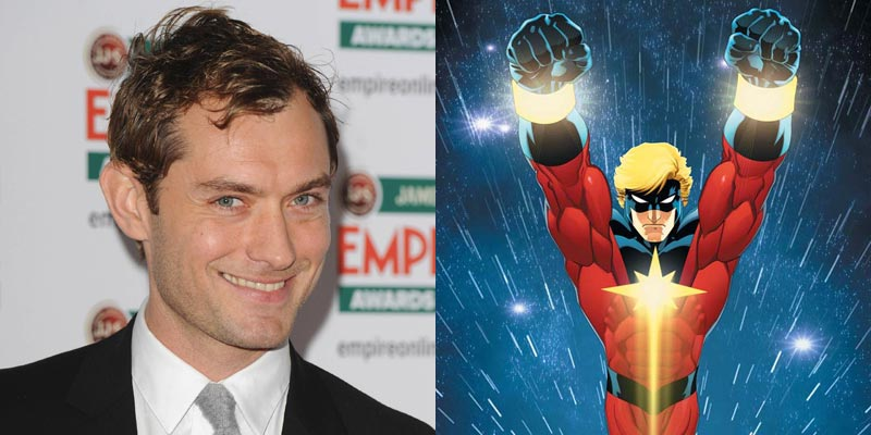 Captain Marvel – Jude Law interpreterà Mar-Vell