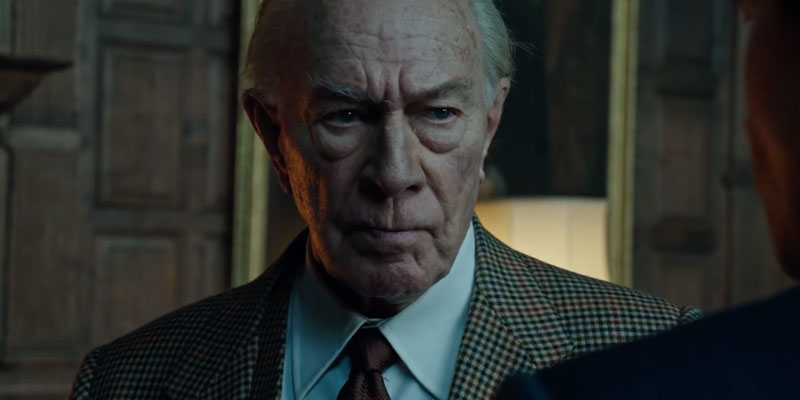 Christopher Plummer in trattative per Knives Out, il film giallo di Rian Johnson