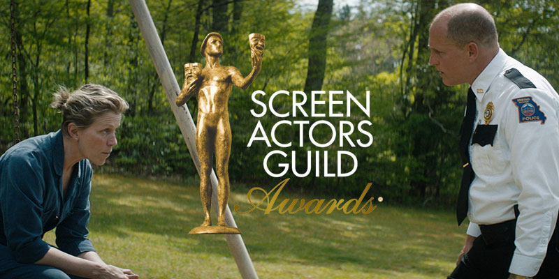 SAG Awards – Tre Manifesti a Ebbing, Missouri ottiene 4 nomination