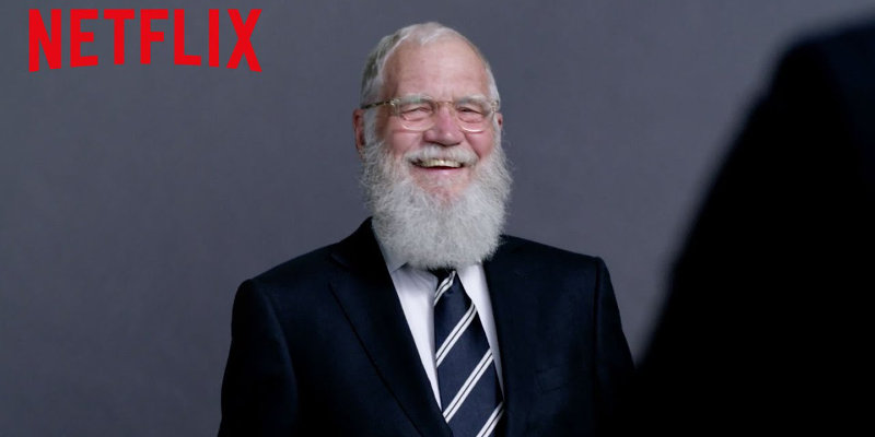 David Letterman torna in tv… in streaming