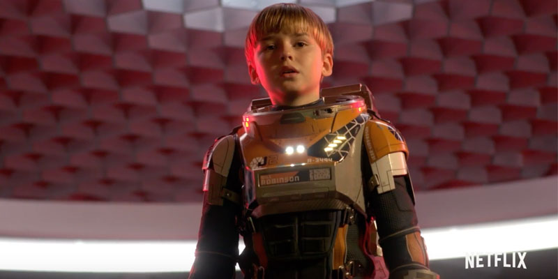 Lost in Space: teaser trailer italiano della serie sci-fi Netflix