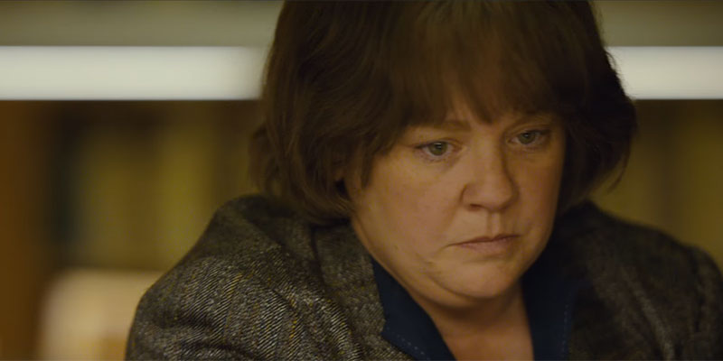 Can You Ever Forgive Me? – Melissa McCarthy nel nuovo film di Marielle Heller, TRAILER