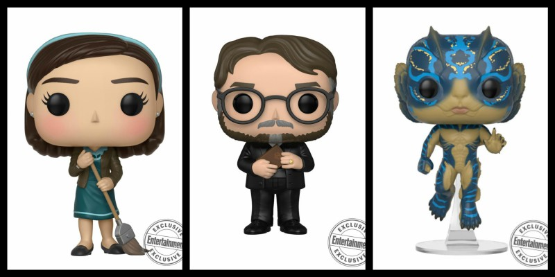 I Funko POP di The Shape of Water e… Guillermo del Toro!