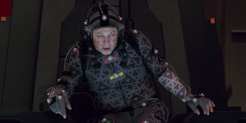 Star Wars: Gli Ultimi Jedi – Andy Serkis è Snoke in un nuovo video dal backstage