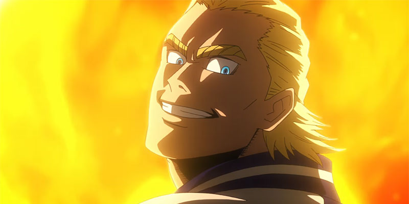 My Hero Academia the Movie: The Two Heroes, il giovane All Might nel teaser trailer