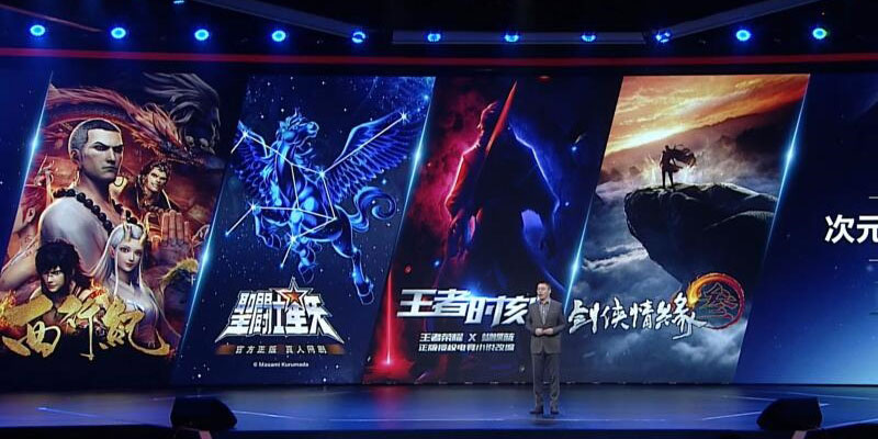 Tencent Pictures annuncia il primo show live action di Saint Seiya