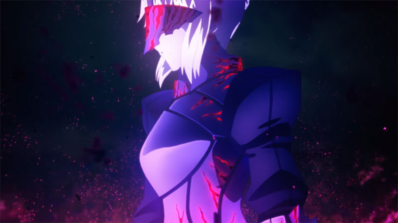 Fate/stay night: Heaven's Feel II – Lost Butterfly, TRAILER e visual