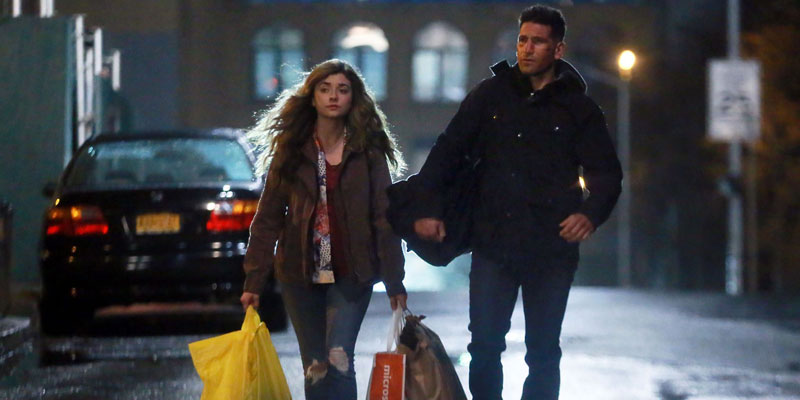 The Punisher – Frank e Amy nelle nuove foto dal set