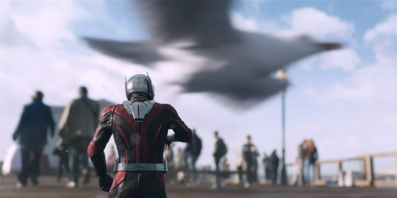 Ant-Man and the Wasp – Formiche e gabbiani nel nuovo spot