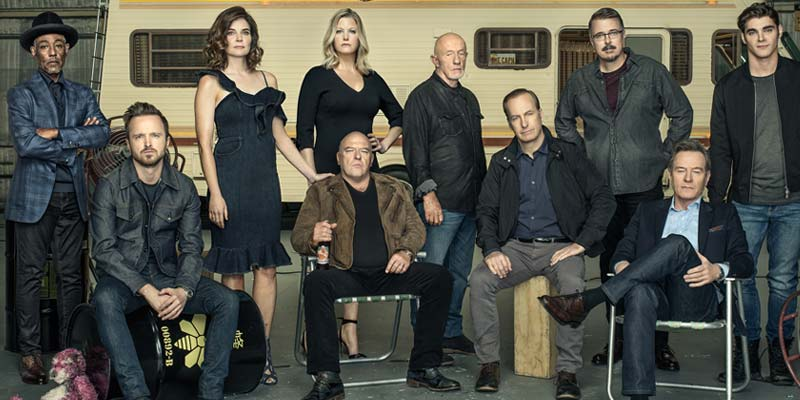 Breaking Bad – Il cast riunito sulla cover di Entertainment Weekly