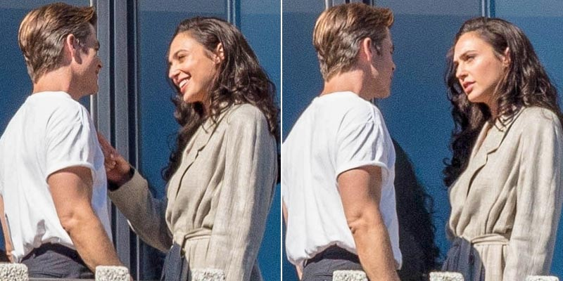 Wonder Woman 1984 – Nuove foto e video dal set con Gal Gadot e Chris Pine