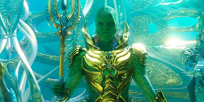 Aquaman, ecco la prima immagine del Fisherman King