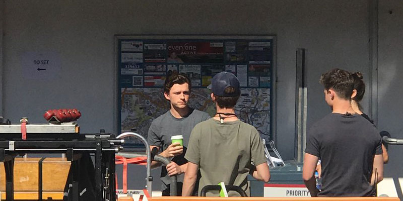 Spider-Man: Far From Home – Tom Holland nelle prime foto dal set inglese