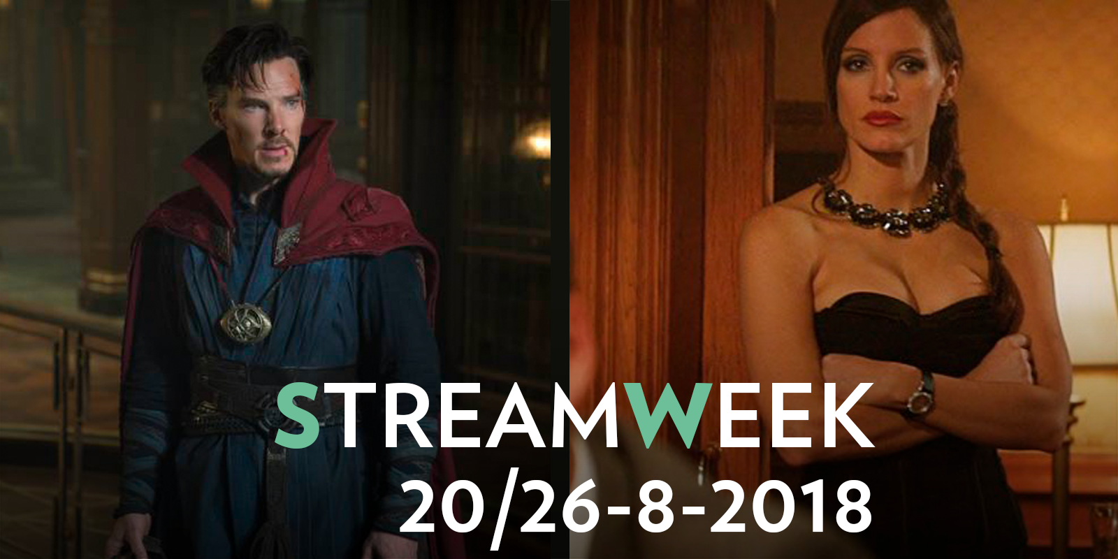 StreamWeek: le magie del Doctor Strange, i trucchi di Molly's Game
