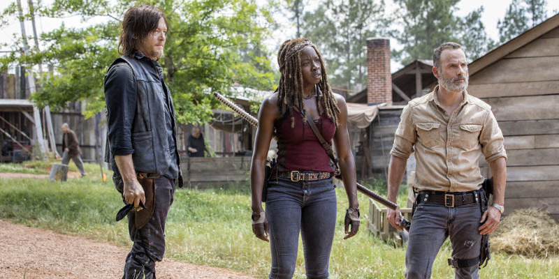 The Walking Dead è lo show più piratato del 2018