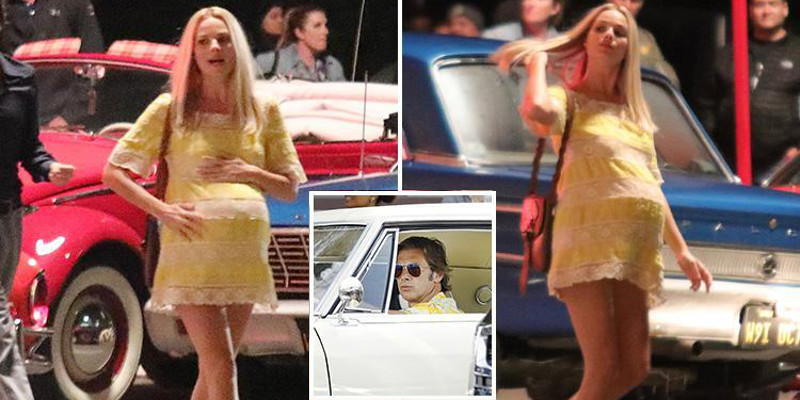 Once Upon a Time in Hollywood: Margot Robbie in dolce attesa sul set del nuovo film di Tarantino