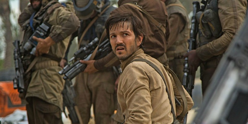 Star Wars: Diego Luna sarà nuovamente Cassian Andor in una serie TV prequel di Rogue One
