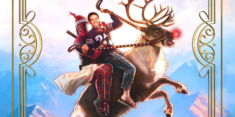 Natale con Deadpool: ecco il poster di Once Upon a Deadpool