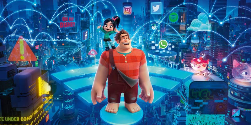 Box Office: Ralph spacca internet vince il weekend in Italia, Aquaman primo in America