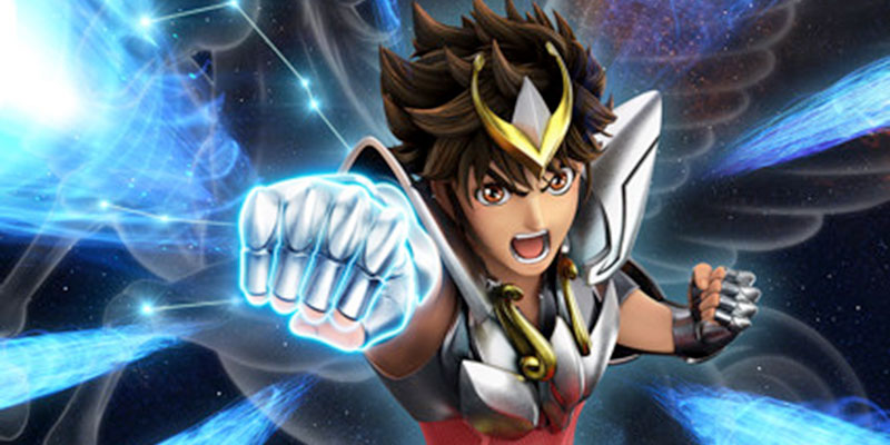 Knight of the Zodiac: Saint Seiya – La nuova visual annuncia il lancio su Netflix nell'estate 2019