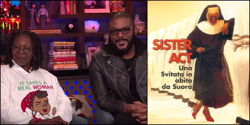 Sister Act 3 – Tyler Perry vuole fare il film con Whoopi Goldberg e Tiffany Haddish