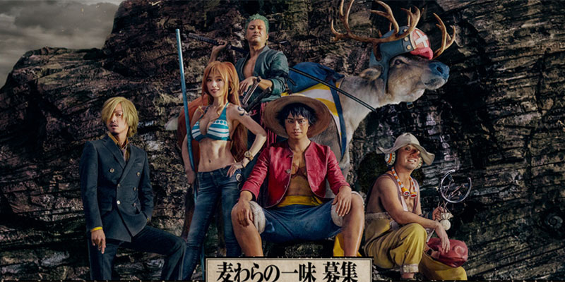 One Piece – Spot live action per il motore di ricerca Indeed