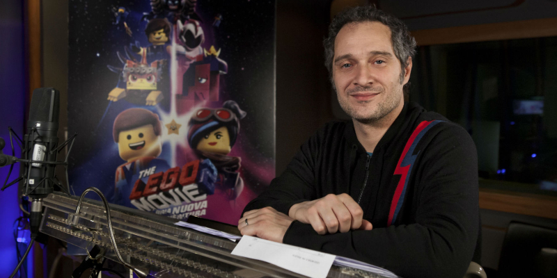 Claudio Santamaria torna a doppiare Batman in The LEGO Movie 2