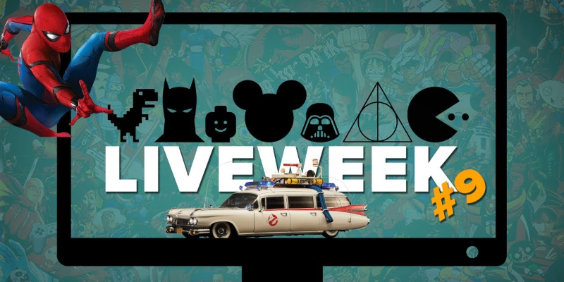 LiveWEEK #9 – Spider-Man e Ghostbusters