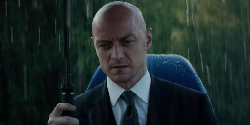 X-Men: Dark Phoenix – Il finale alternativo con un intenso James McAvoy