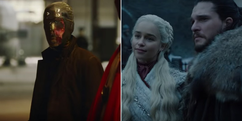Prima occhiata a Watchmen e Game of Thrones grazie al teaser di HBO