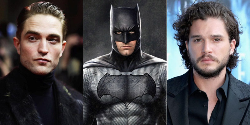 The Batman – Kit Harington e Robert Pattinson tra gli attori in corsa per il ruolo di Bruce Wayne