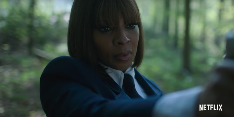 The Umbrella Academy – Mary J. Blige canta e spara nel nuovo spot
