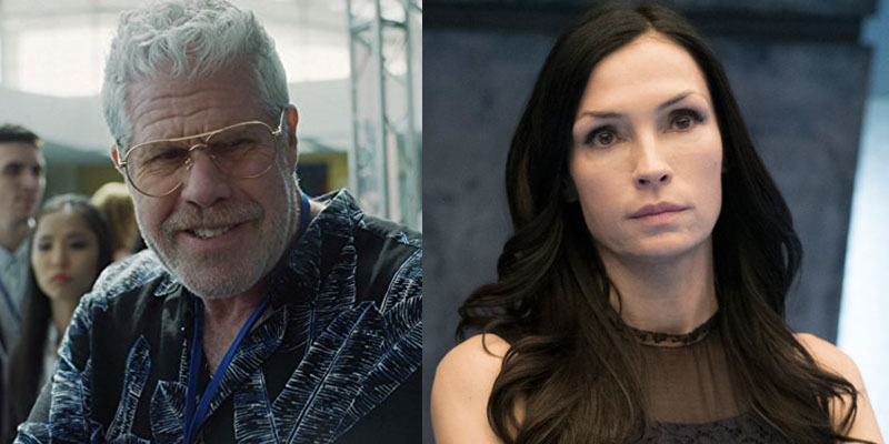 Ron Perlman e Famke Janssen in The Capture