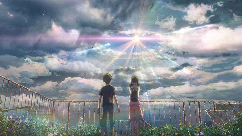 Prime immagini di Weathering With You il film di Makoto Shinkai