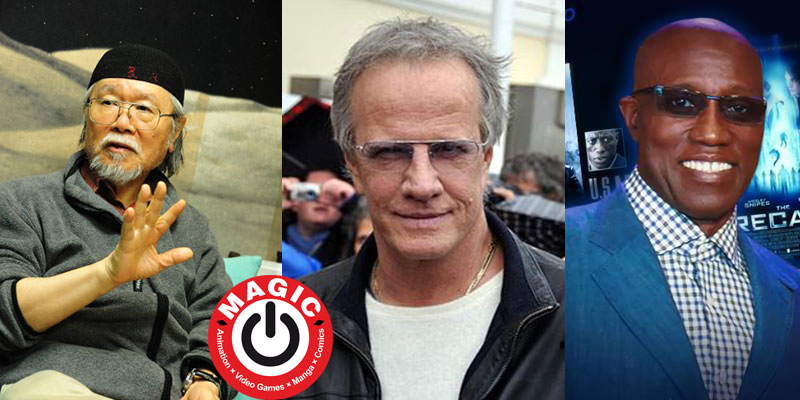 Leiji Matsumoto, Christopher Lambert e Wesley Snipes al MAGIC 2019