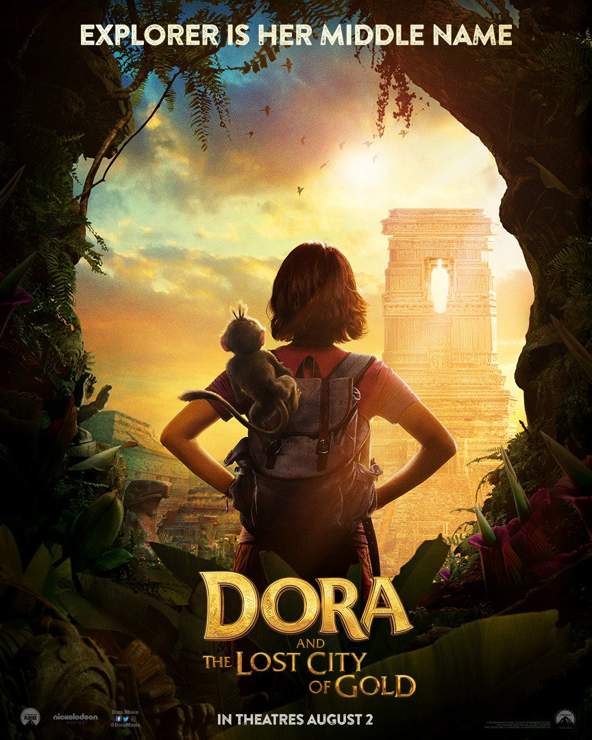 poster di Dora and the Lost City of Gold
