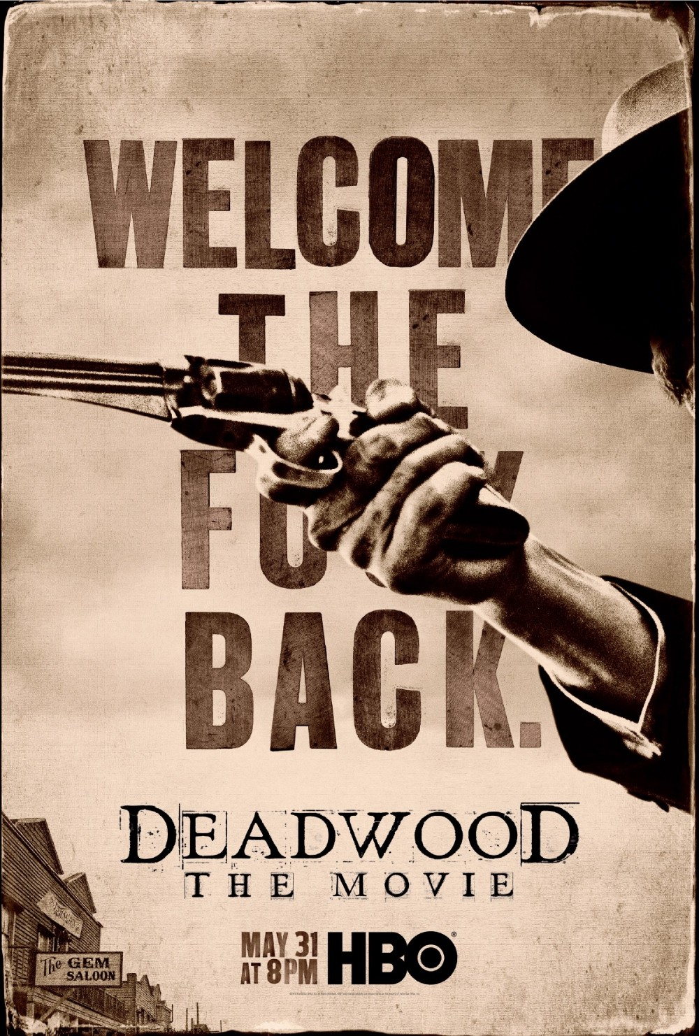 Deadwood The Movie poster