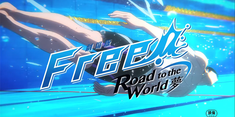 A Luglio il film riassuntivo Free! – Road to the World – Yume, teaser e visual