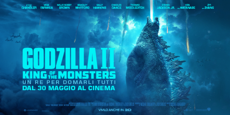 Godzilla: King of the Monsters – La furia dei Kaiju nel NUOVO TRAILER!