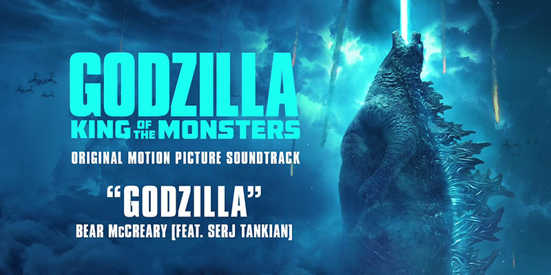La nuova versione di Godzilla dei Blue Oyster per Godzilla: King of the Monsters