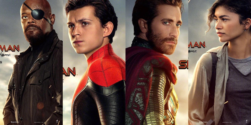 Spider-Man: Far From Home – I protagonisti ritratti sui nuovi poster