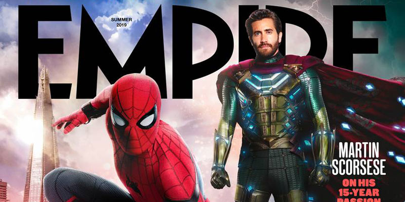 Spider-Man: Far From Home – Spidey e Mysterio sulla cover di Empire