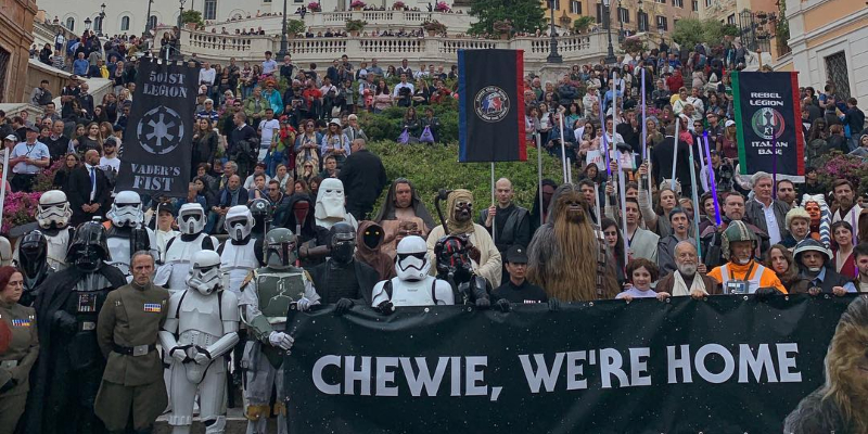 Star Wars Day 2019: le nostre foto dell'evento di Roma