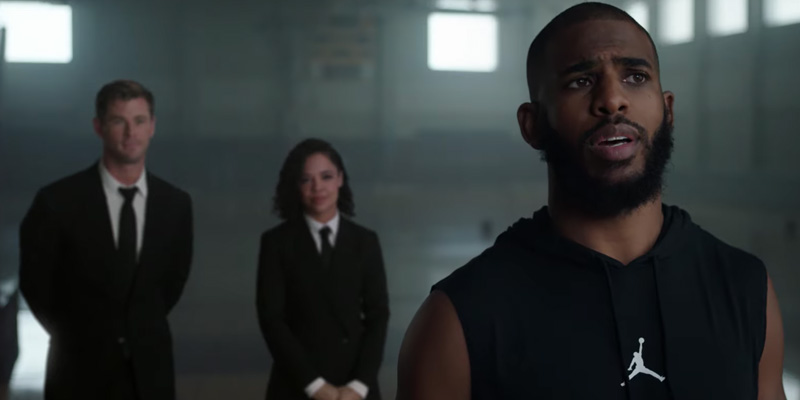 Men in Black: International: H, M e Chris Paul nel nuovo spot per le finali NBA