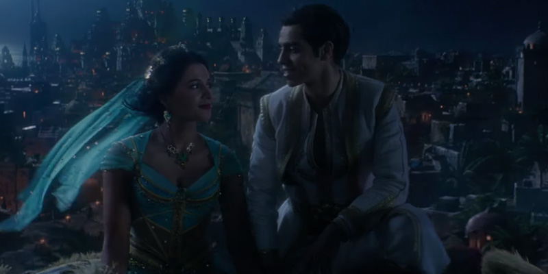Aladdin – Disney pubblica la clip completa di A Whole New World