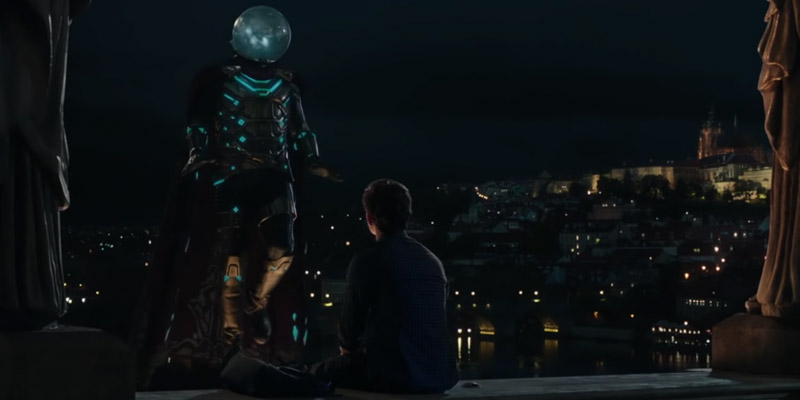 Spider-Man: Far From Home – Un dialogo tra Peter e Mysterio nella nuova clip