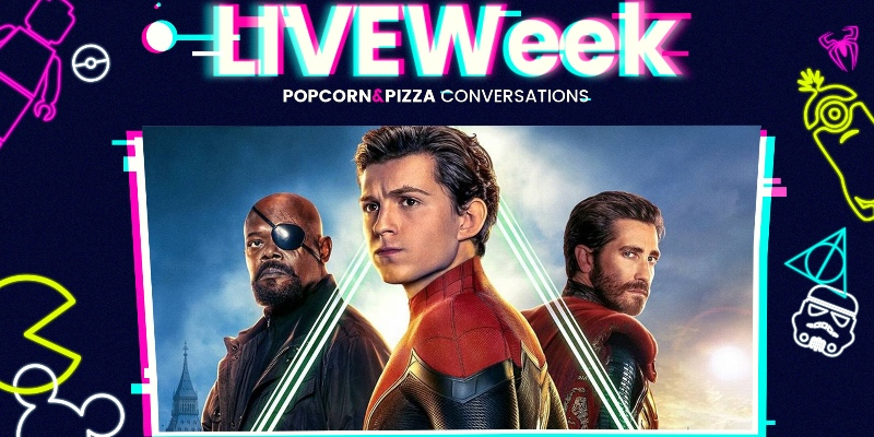 LiveWEEK #33 – Parliamo di Spider-Man: Far From Home [SPOILER]