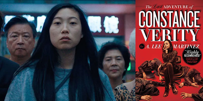 Awkwafina in The Last Adventure of Constance Verity