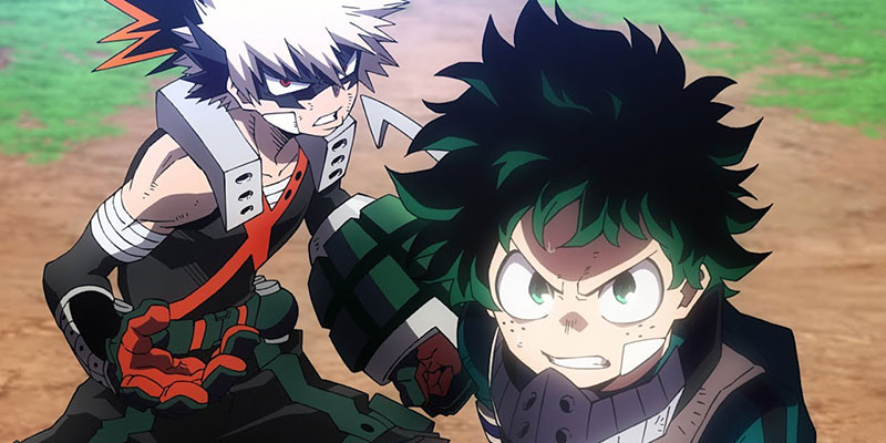 Il villain Nine nel teaser del film My Hero Academia THE MOVIE Heroes: Rising
